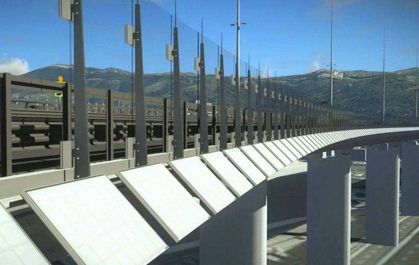 ll modello Bim del nuovo viadotto sul torrente Polcevera