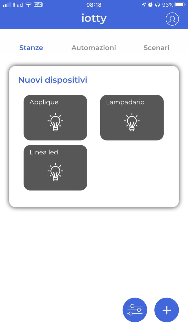 iotty - Dispositivi