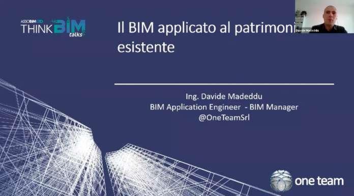 Webinar: Hbim, la gestione del patrimonio esistente