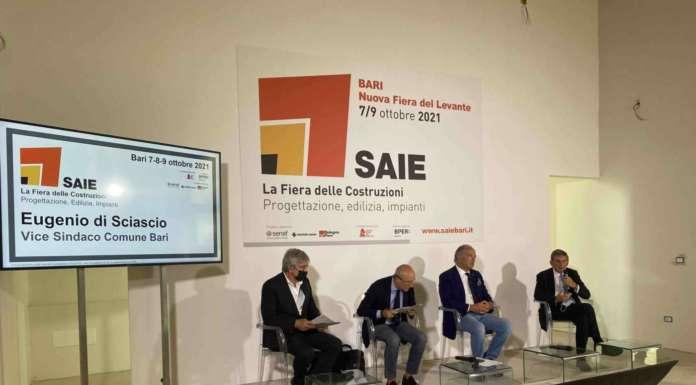 Costruzioni in crescita, l'accelerazione di SAIE Bari 2021